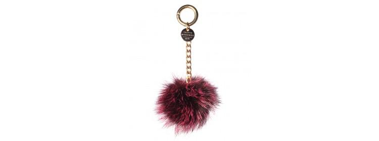 Nowa kolekcja BRELOK Z LISA czarny z różowymi odcieniami