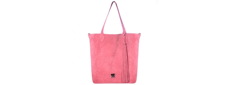 Torebka skórzana damska BRONTE pink